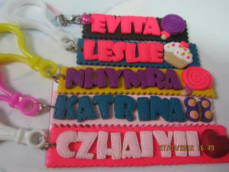 Nameplate Bag Tag/Keychain